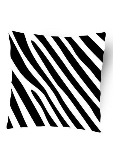 Lyn Home & Decor Zebra Yastık Kılıfı Renkli